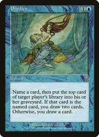 Predict, Magic: The Gathering, Odyssey