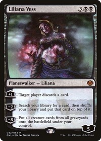 Liliana Vess, Magic: The Gathering, Duel Decks: Anthology