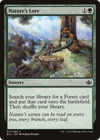 Nature's Lore, Magic: The Gathering, Duel Decks: Anthology