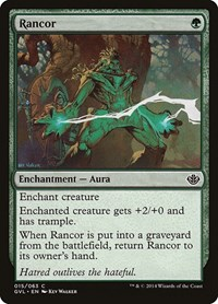 Rancor, Magic: The Gathering, Duel Decks: Anthology