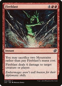 Fireblast, Magic: The Gathering, Duel Decks: Anthology