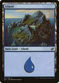 Island (31) (Jace vs. Chandra), Magic: The Gathering, Duel Decks: Anthology