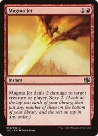Magma Jet, Magic: The Gathering, Duel Decks: Anthology