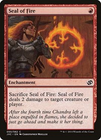 Seal of Fire, Magic: The Gathering, Duel Decks: Anthology