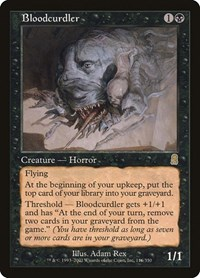 Bloodcurdler, Magic: The Gathering, Odyssey