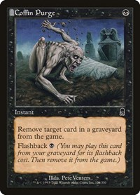 Coffin Purge, Magic: The Gathering, Odyssey