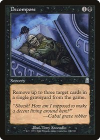 Decompose, Magic: The Gathering, Odyssey