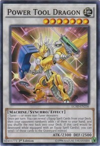 Power Tool Dragon, YuGiOh, Legendary Collection 5D's