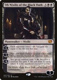 Ob Nixilis of the Black Oath, Magic: The Gathering, Commander 2014