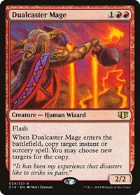Dualcaster Mage, Magic: The Gathering, Commander 2014
