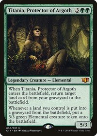 Titania, Protector of Argoth, Magic: The Gathering, Commander 2014