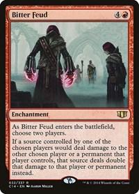 Bitter Feud, Magic: The Gathering, Commander 2014