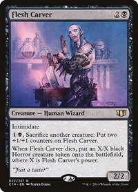 Flesh Carver, Magic: The Gathering, Commander 2014