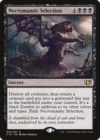 Necromantic Selection, Magic: The Gathering, Commander 2014