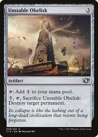 Unstable Obelisk, Magic: The Gathering, Commander 2014