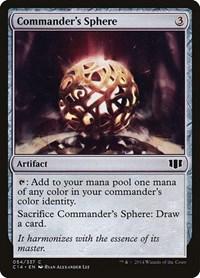 Commander's Sphere, Magic: The Gathering, Commander 2014