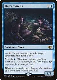 Dulcet Sirens, Magic: The Gathering, Commander 2014