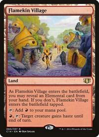 Flamekin Village, Magic, Commander 2014