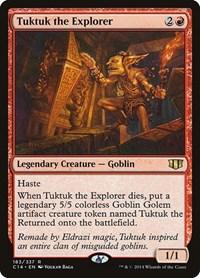 Tuktuk the Explorer, Magic, Commander 2014