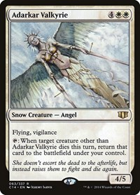 Adarkar Valkyrie, Magic: The Gathering, Commander 2014