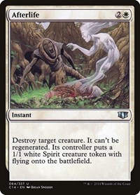 Afterlife, Magic: The Gathering, Commander 2014