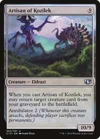 Artisan of Kozilek, Magic: The Gathering, Commander 2014