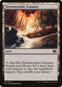 Terramorphic Expanse, Magic: The Gathering, Commander 2014