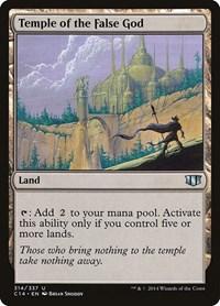 Temple of the False God, Magic: The Gathering, Commander 2014