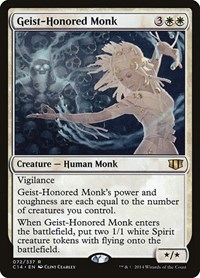 Geist-Honored Monk, Magic, Commander 2014