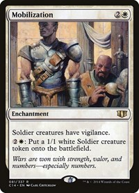 Mobilization, Magic, Commander 2014