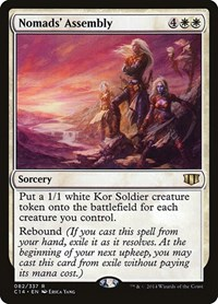 Nomads' Assembly, Magic: The Gathering, Commander 2014