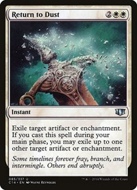 Return to Dust, Magic: The Gathering, Commander 2014