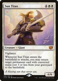 Sun Titan, Magic, Commander 2014