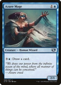 Azure Mage, Magic: The Gathering, Commander 2014