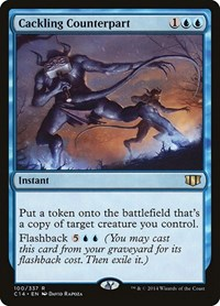 Cackling Counterpart, Magic: The Gathering, Commander 2014