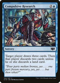 Compulsive Research, Magic: The Gathering, Commander 2014