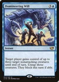 Domineering Will, Magic, Commander 2014