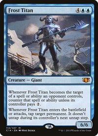 Frost Titan, Magic: The Gathering, Commander 2014