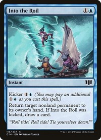 Into the Roil, Magic, Commander 2014