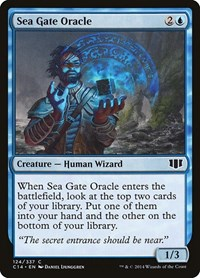 Sea Gate Oracle, Magic: The Gathering, Commander 2014