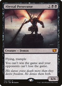 Abyssal Persecutor, Magic: The Gathering, Commander 2014