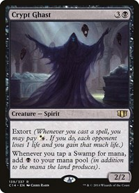 Crypt Ghast, Magic: The Gathering, Commander 2014
