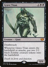 Grave Titan, Magic, Commander 2014