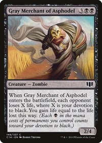 Gray Merchant of Asphodel, Magic: The Gathering, Commander 2014