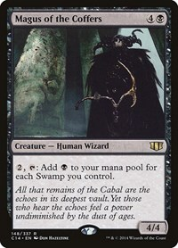 Magus of the Coffers, Magic: The Gathering, Commander 2014