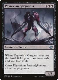 Phyrexian Gargantua, Magic: The Gathering, Commander 2014