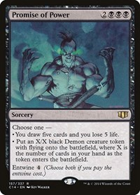 Promise of Power, Magic: The Gathering, Commander 2014