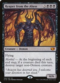 Reaper from the Abyss, Magic: The Gathering, Commander 2014