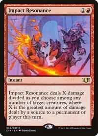Impact Resonance, Magic, Commander 2014