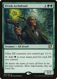 Elvish Archdruid, Magic: The Gathering, Commander 2014